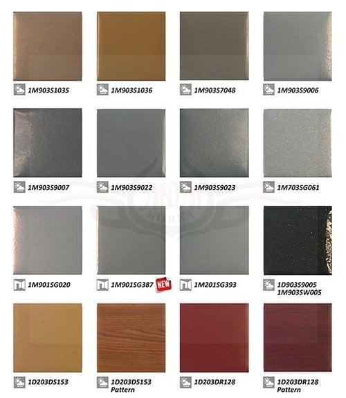 Каталоги ral и образцы окраски