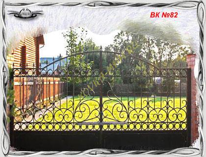 эскизы ворот металлических: