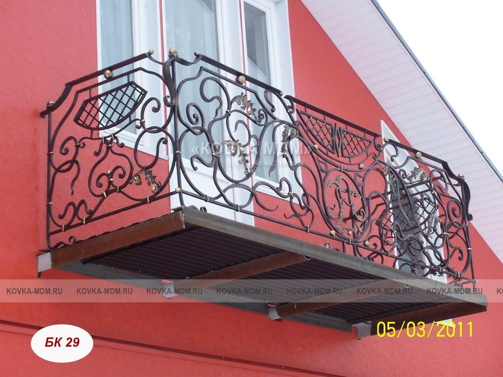 Балконы кованые бк 29 4 61 44 33 49 38 7 63 7 1czyh3f6bn ков.