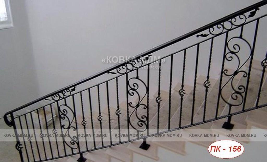 Кованые ограждения для лестницы своими руками