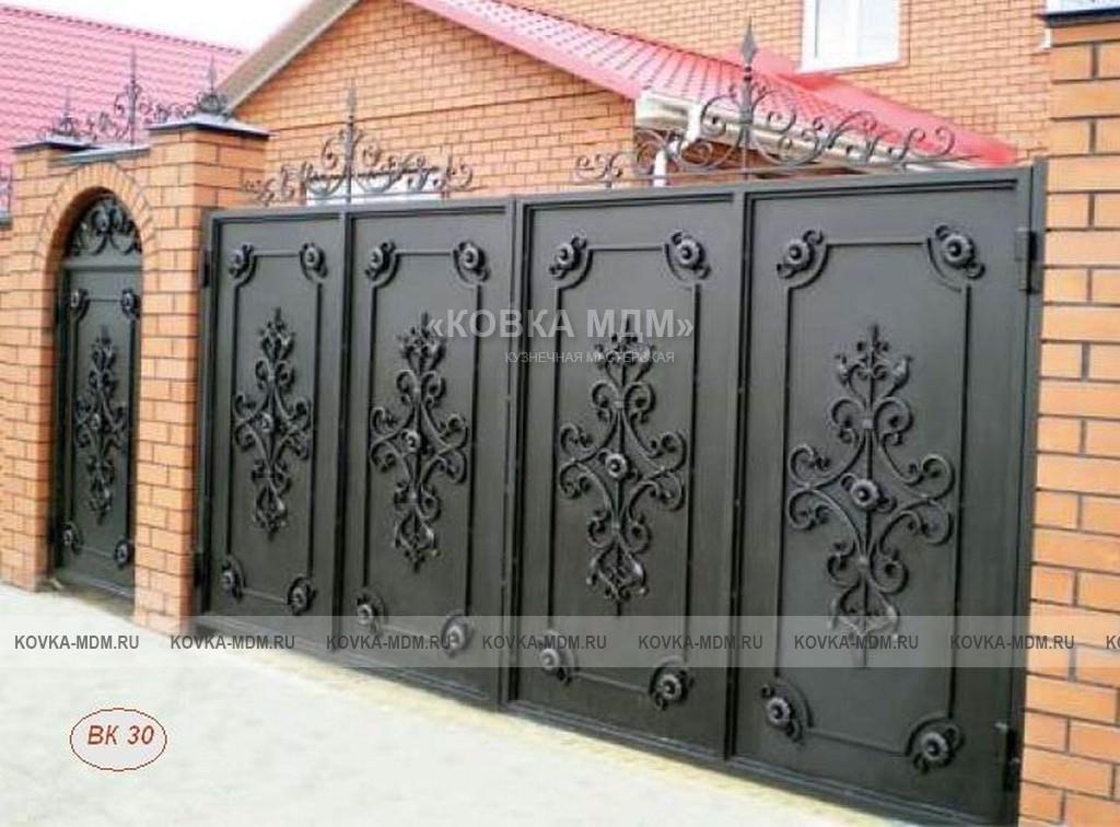 Ворота в свой дом своими руками