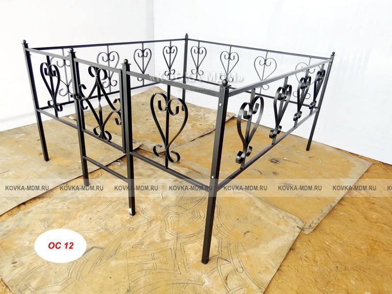 Изготовление ограды для могил